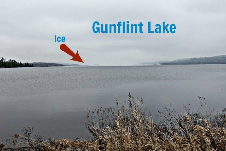 Gunflint Lake April 15 2017