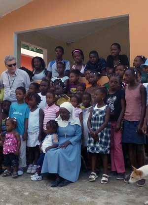 L'orfanotrofio di Haiti
