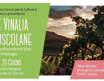 """19 e 20 giugno appuntamento con """"Le Vinalia Tuscolane"""
