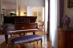 Suite Marlene DIetrich del Hotel Hospes Lancaster