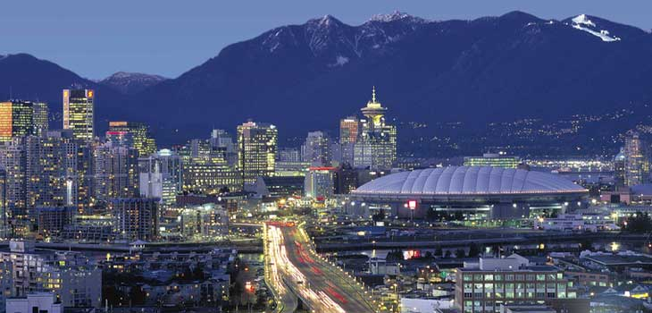 Panorámica de Vancouver desde Lookout
