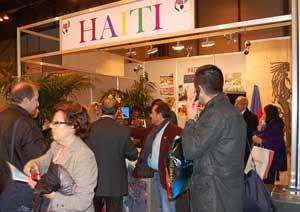 Stand de Haití en Fitur 2012