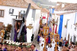 Procesión en Óbidos