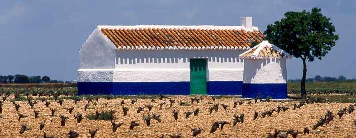 Casa típica del campo manchego en Alcázar de San Juan