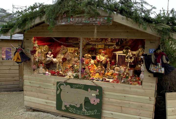 Caseta de el Village de Noël. O.T. Liège © Luc Lemoine