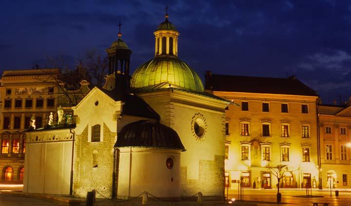 Iglesia de San Adalberto, Cracovia
