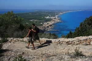 Senderismo en Formentera