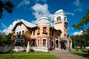 Villa Ammende, en Parnu