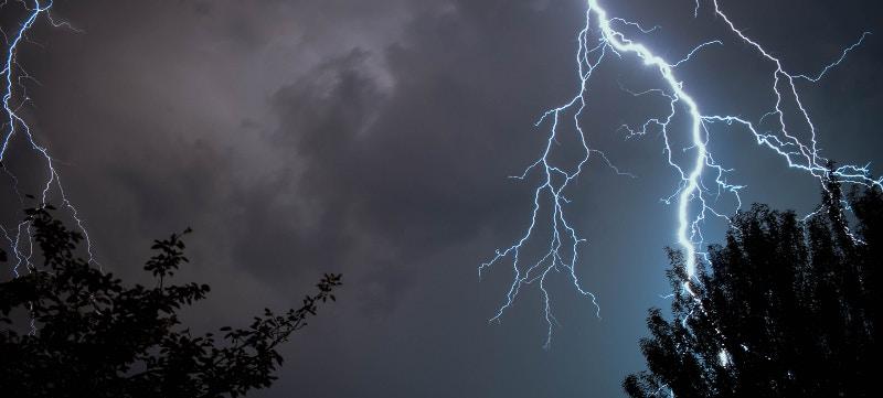 tormenta seguro coche