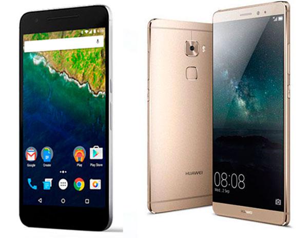 Huawei Mate S vs Nexus 6P