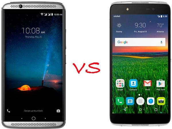 ZTE Axon 7(siete) vs Alcatel® Idol 4