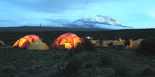 Machame Climbing Route Day 4