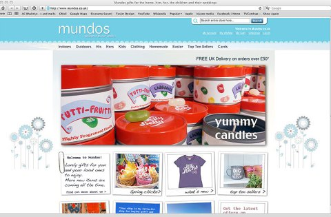 Mundos supply gifts for discerning customers