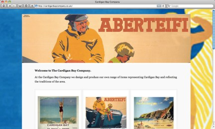The Cardigan Bay Company new website