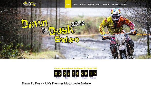 Dawn to Dusk Enduro new website