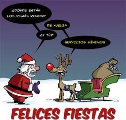 navidad en huelga