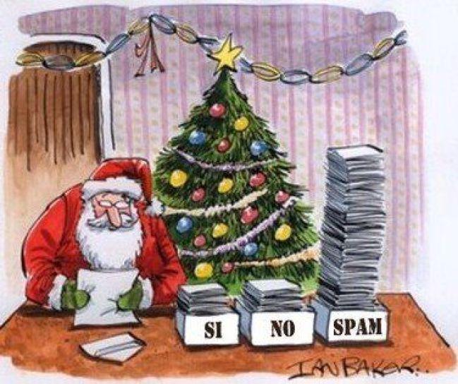 spam santa claus