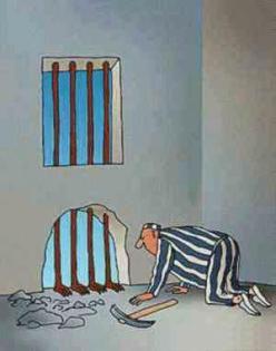 chiste prision