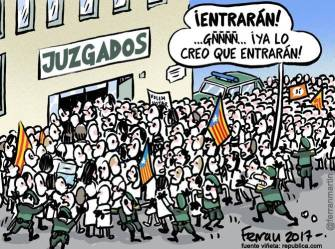 juzgados independentistas