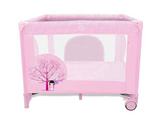 Parque infantil rosa