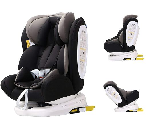 distintas vista de silla de bebé