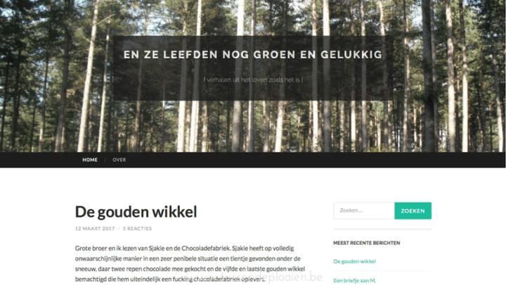 Blogger in de kijker - En ze leefden nog groen en gelukkig