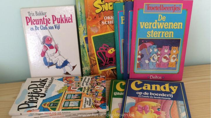 Mijn favoriete bezigheid als kind: lezen - kinderboeken