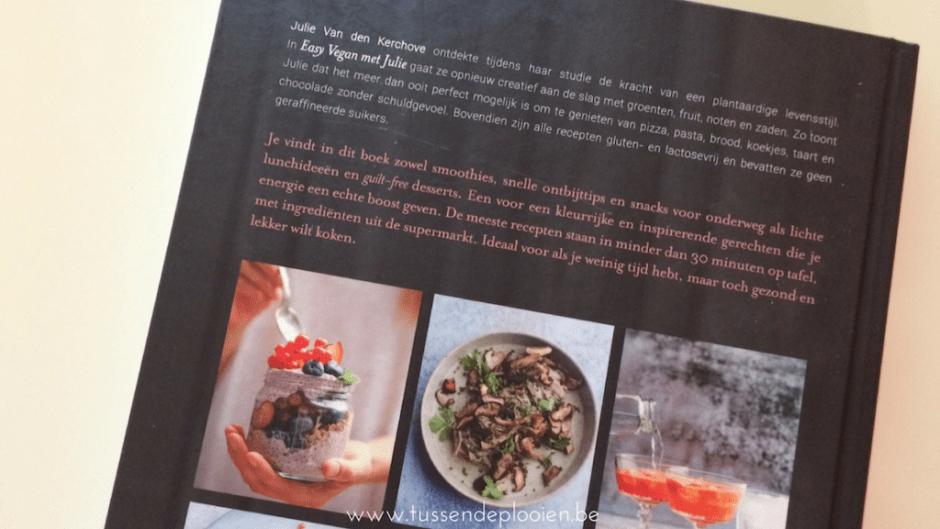 Easy vegan met Julie #kookboekweek