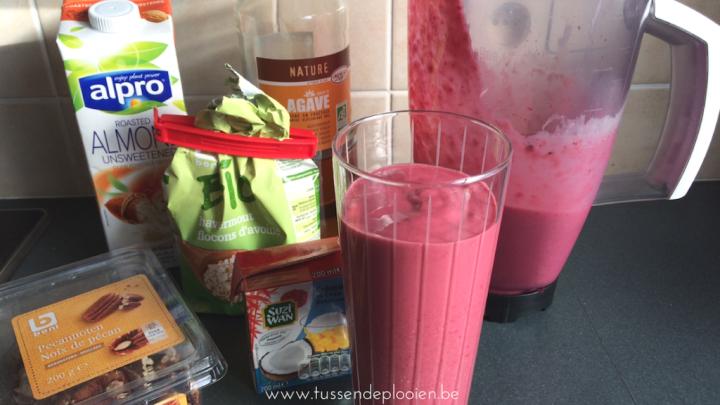 Recept fruitige ontbijt smoothie