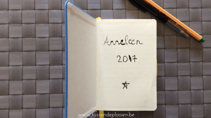 Dit is geen bullet journal. Nog niet.