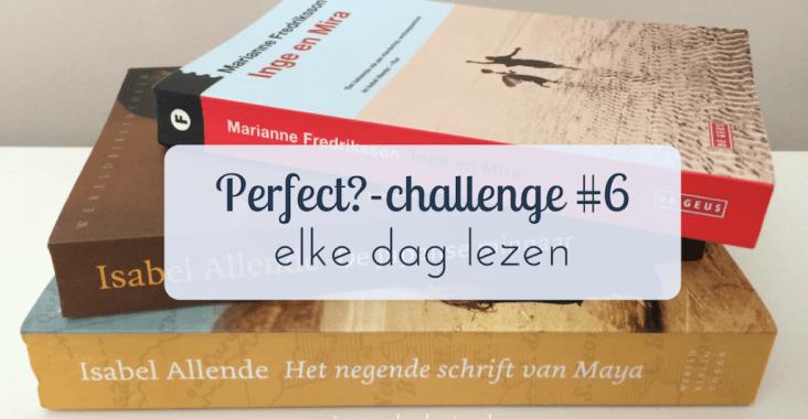 Elke dag 15 minuten lezen - perfect?-challenge