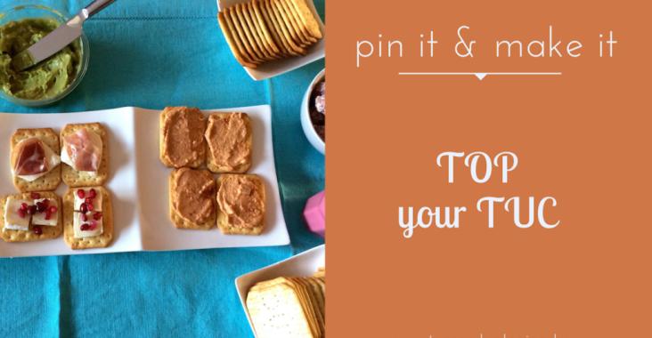 Hapjes met TUC: 4 toppings