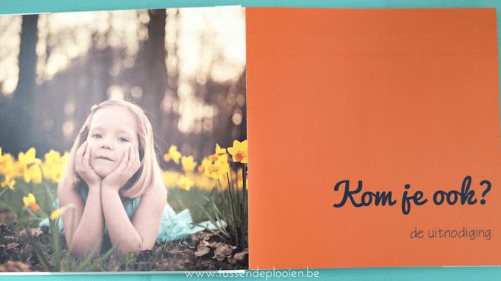Eerste communie - Fotoboek - Themapagina