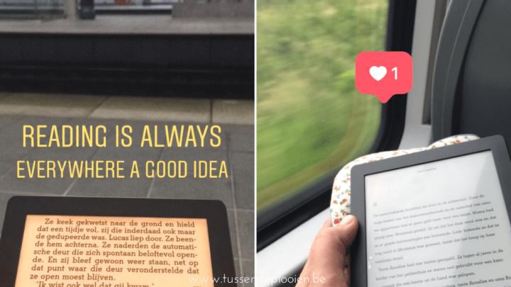 Boeken eerste helft 2018: lezen onderweg