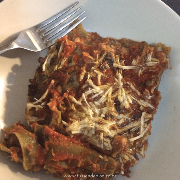 Recept veggie lasagne vol verrassingen