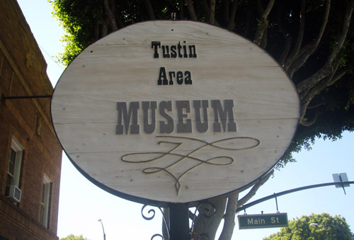 Tustin Area Museum in Old Town Tustin