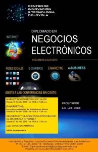 Lee más sobre el artículo Conferencias Gratuitas – Diplomado en Negocios Electronicos – Guatemala