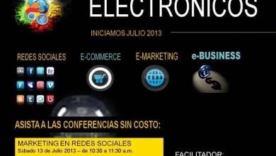 Photo of Conferencias Gratuitas – Diplomado en Negocios Electronicos – Guatemala