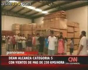 Lee más sobre el artículo Huracan Dean, Yucatan, Quintana Roo, Mexico