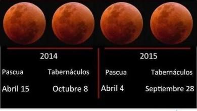 Photo of Tetrada de eclipses de luna roja de sangre – Otto Porta