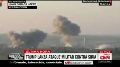 Photo of Trump lanza ataque militar en contra de Siria