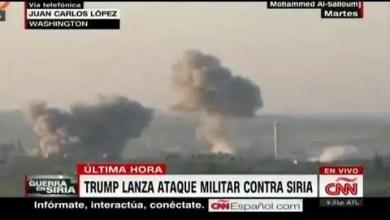 Photo of Trump lanza ataque militar en contra de Siria