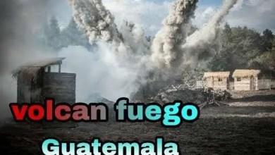 Volcan de Fuego hace erupción en Guatemala
