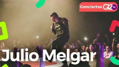 Concierto Julio Melgar en Bogotá, Colombia - G12