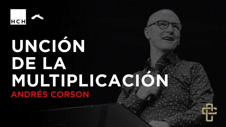 Unción de multiplicación – Andres Corson – Hechos 2018, Contracultura