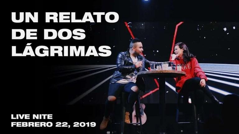 Daniel Aguilar & Kim Richards – Un relato de dos lágrimas, Live Nite