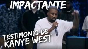 KANYE WEST cuenta su testimonio, el famoso rapero esposo de Kim Kardashian