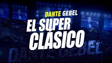 Photo of Dante Gebel, El Superclásico desde el estadio Cuscatlan en El Salvador