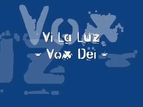 Lee más sobre el artículo Vox Dei – Vi la luz