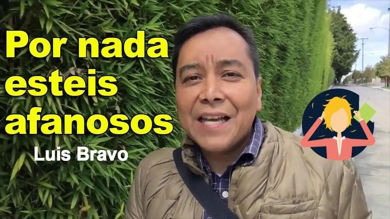 En este momento estás viendo Por nada estéis afanosos – Luis Bravo